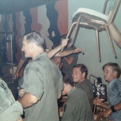 3rd Platoon having fun