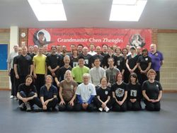 2013 London seminar with Grandmaster Chen Zhenglei
