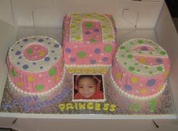 O N E cake
