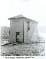 Huntingdon and Broadtop Railroad Water Tank