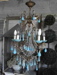 #12/107 French Chandelier SOLD