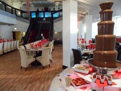 Chocolate fountain Hire panshee Banqueting Bradford.