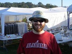 Matt at flea market