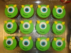 Mike cupcakes $4.50 each