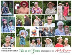Hub Hospice Tea Party Collage