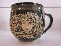 Women in Water mug by Cheryl Iwanowsky