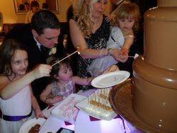 West yorkshire chocolate fountain hire