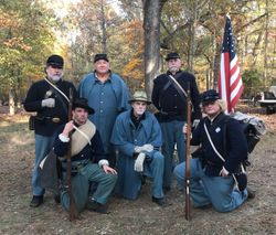 The 14th US Regulars at Guilford Courthouse NMP