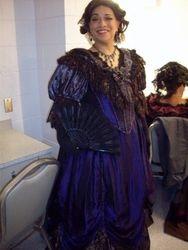La Traviata Act II dress