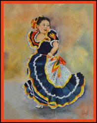 3rd Place, Susan Pizzi (Spanish Dancer)