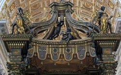 Bernini, Baldacchino,  St. Peters