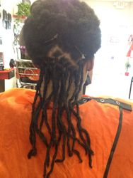 Bee Re-Attach Old Dreads