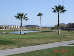 9th hole Oasis Golf Course