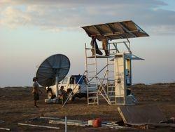 Installing a Solar Satellite system