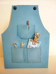 Father's Day Apron - Mr Fixit