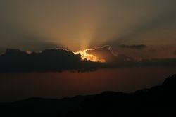 Sunset at Monteverde