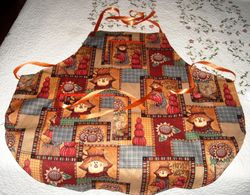 Apron - scarecrow - SOLD