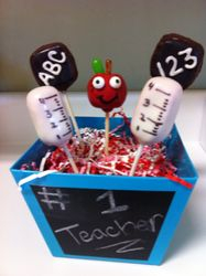 Teacher Bucket of Cake Pops