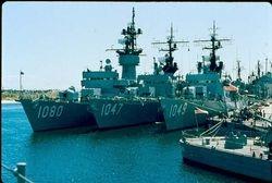 USS Paul (DE-1080), USS Voge (DE-1047), USS Koelsch (DE-1049)