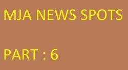MJA PODCAST : THE SERIES : MJA NEWS SPOTS