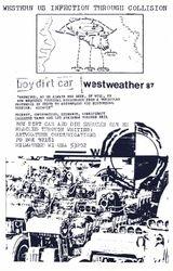 Die Kreuzen & BDC contact info circa 1987