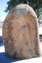 Memorial Stone Marking QANTAS's first Landing Ground