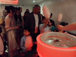 Put a smile on faces with a candy floss machine at party