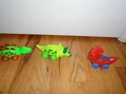 3 Bees & Me Dinosaur Toys- Dinokins- Rolling Dinosaurs - $10