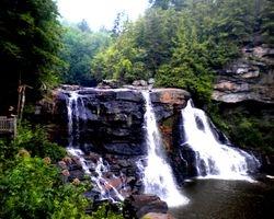 Jake at Blackwater Falls, West Virginia