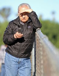 Jerry Hollendorfer at Workouts
