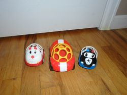 Constructive Playthings OBALL Go Grippers Emergency Vehicles - $12