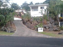 Retainer Wall Garden After