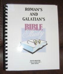 Roman's and Galatians Bible Study