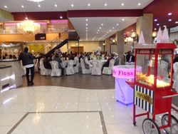 The Grand Banquiting suite Dewsbery Popcorn and candy floss machine hire