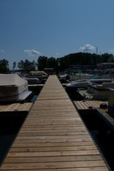 Harborside Marina Floating Walkway