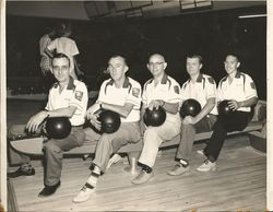1950's Mill Bowling team