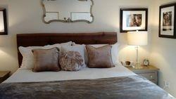 Custom Walnut Bed