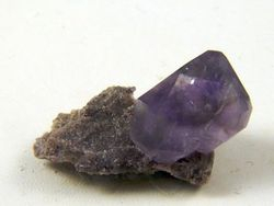 Amethyst Herkimer Crystal 09-00275