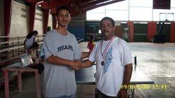 Rene Perez 3rd place Corozal tournament