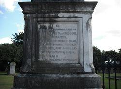Jock McGregor Grave