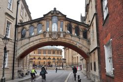 Hertford Bridge, Hertford College, Oxford