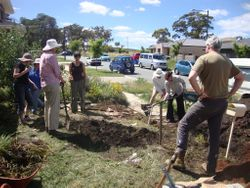 Fixing the garden edge