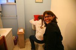 The toilet trick