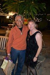 Enrique Serrato and Marsha Judd