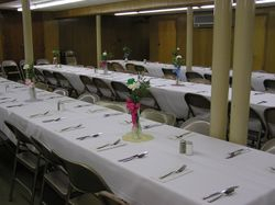 Tables are set and ready!