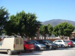 Newly reformed car park areas