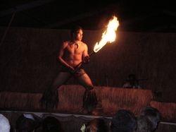 Fire Dancing, Luau