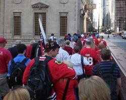2013 - Early Rising Blackhawks Fans