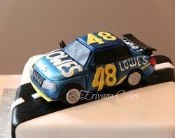 Jimmy Johnson Racecar cake