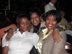 Samara, Tracey and Alethea